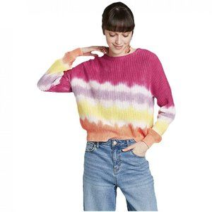 NWT Wild Fable Oversized Tie Dye Sweater Large